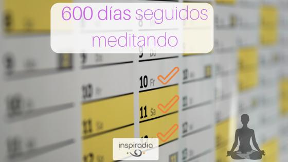 600 días seguidos meditando: 3 tips para adquirir un nuevo hábito